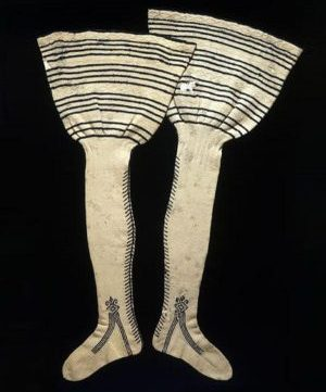 sock history - nobleman's socks in 1500